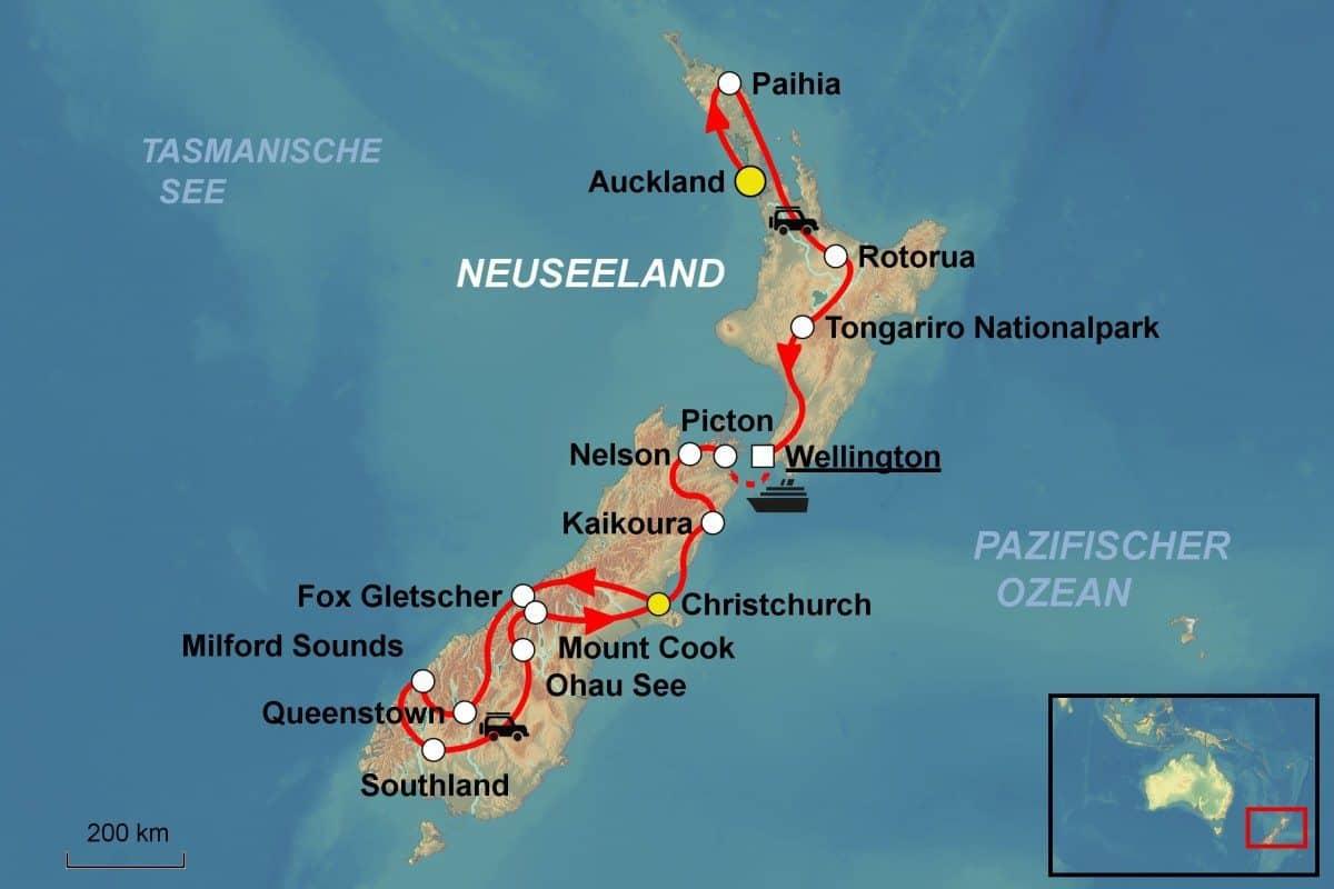 Parry Islands Map