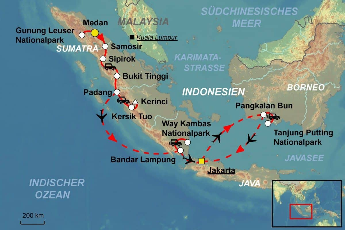 Where Is The Island Of Borneo On A Map