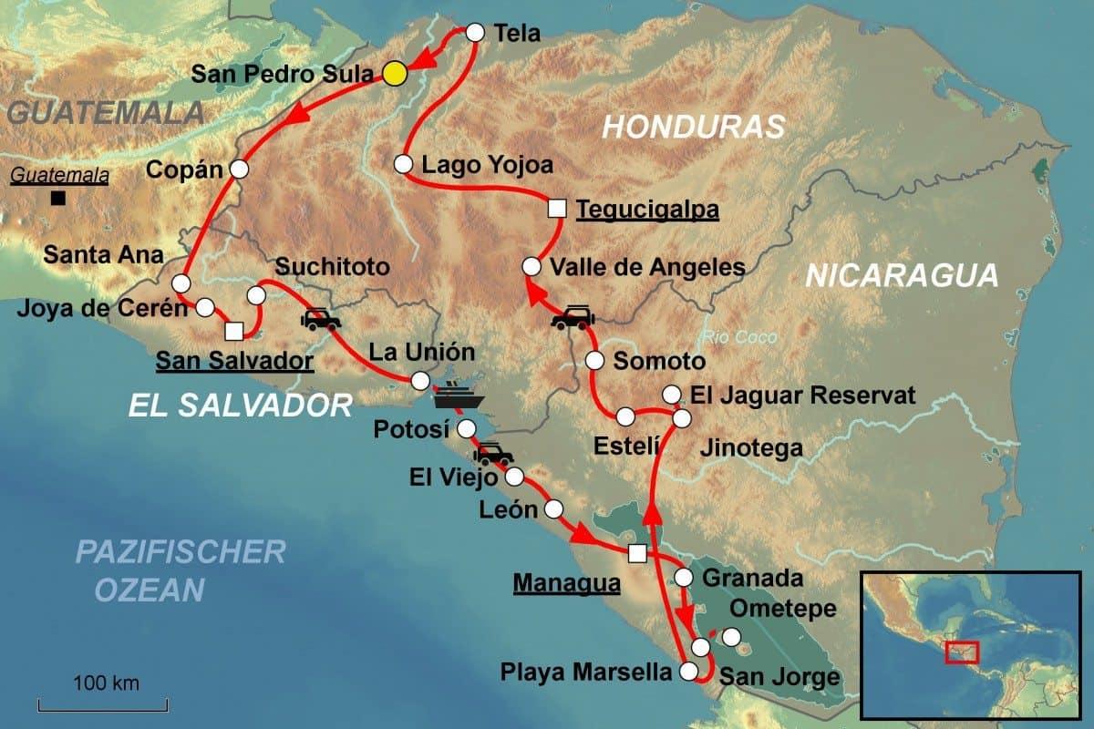 zentralamerika gruppenreise - sch u00e4tze - jet reisen ag